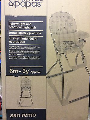 Mamas And Papas Highchair Brand New In Box !