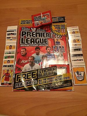 Complete Set Of 352 Topps Premier League 2014 Sticker Collection Excellent Cond
