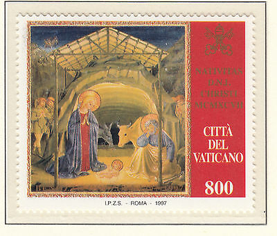 VATICAN CITY 1997 Christmas  MINT UNHINGED