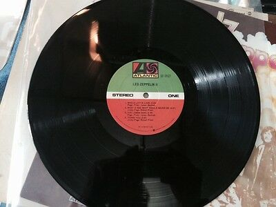 Led Zeppelin Ii Original Atlantic #19127 Excellent   1969