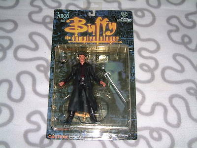 1999 Moore Action Buffy Angel with human face Action Figure