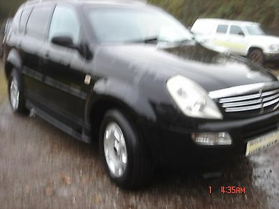 Spares Or Repair Ssangyoug Rexton 4X4  7 Seater
