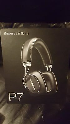 "Bowers & Wilkins P7 Over Ear Headphones Black New & Boxed - True ""Mobile Hi-Fi""+"