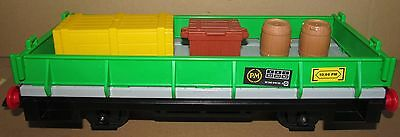 Lgb Playmobil G Gauge Railway Train Open Wagon With Crates And Barrels
