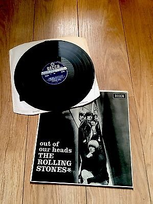 Rolling Stones - Out Of Our Heads - First UK stereo press, Rare, SKL4733