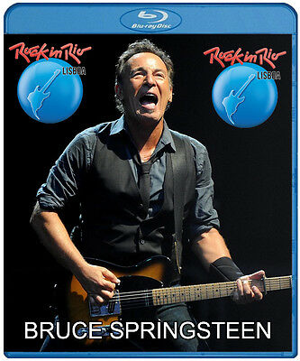 Bruce Springsteen live Rock In Rio Lisboa 2016 (Blu Ray) Eric Clapton