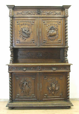 antikes buffet jugendstil gr nderzeit im originalzustand. Black Bedroom Furniture Sets. Home Design Ideas