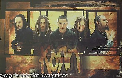 Korn 23x35 Untouchables Group Poster 2002