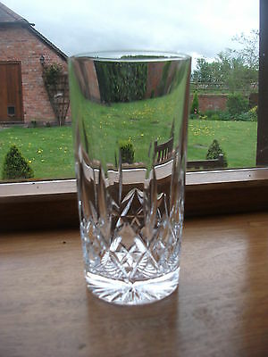 STUART CRYSTAL GLENCOE 12o/z HI BALL GLASSES X 6