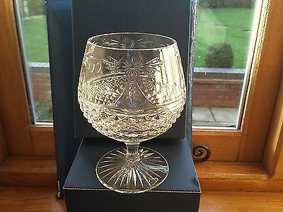 STUART CRYSTAL BEACONSFIELD 12o/z BRANDY GLASSES X 2