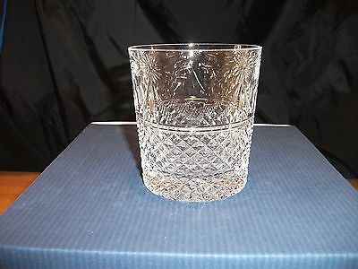STUART CRYSTAL BEACONSFIELD 12o/z WHISKY GLASSES X 6