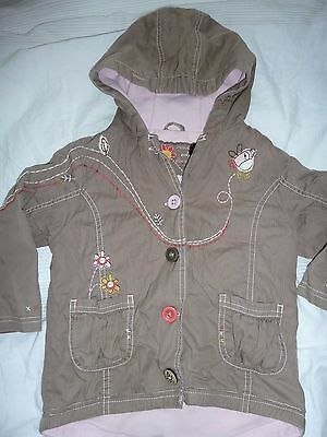 Gorgeous Next hooded coat 2 - 3 years - so cute!