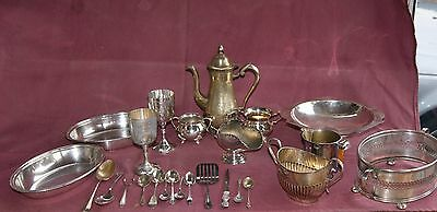 Job Lot Of 25  Items Collection  Vintage Silver Plated & E P N S , Various
