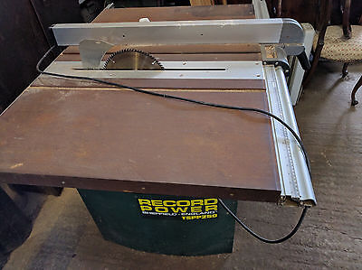 Table Saw, Record Power, 240v