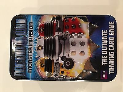 Doctor Who Monster Invasion 84 Trading Cards In Doctor Who Tin -
