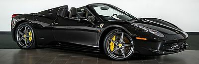 2013 Ferrari 458  Fully loaded Ferrari 458 Spider