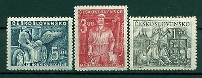INDUSTRIE - INDUSTRY CZECHOSLOVAKIA 1949 Day of Miners