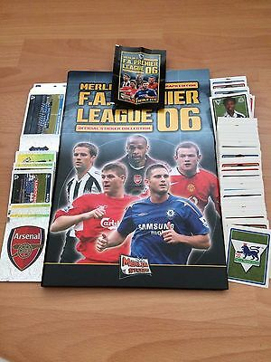 Complete Set Of 528 Merlin Premier League 2006 Stickers Collection Excellent
