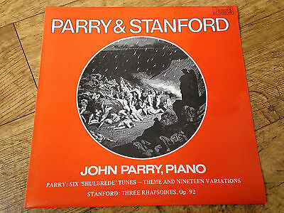 Parry & Stanford six shulbrede tunes and nineteen variations three rhapsodies LP