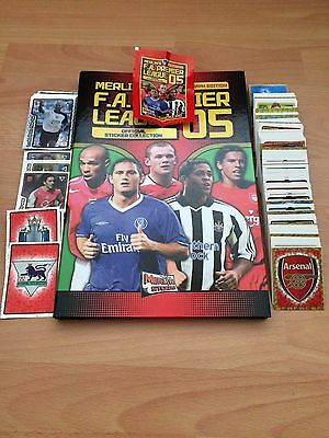 Complete Set Of 574 Merlin Premier League 2005 Stickers Collection Excellent