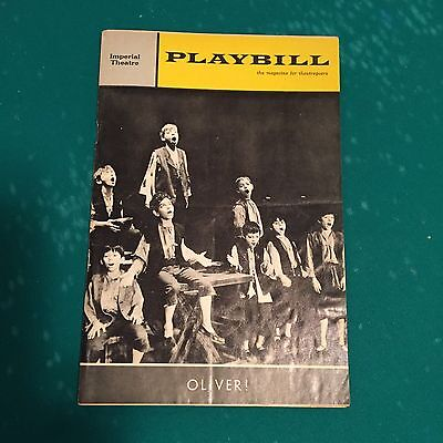 "Vintage Playbill from ""OLIVER"" 1964"