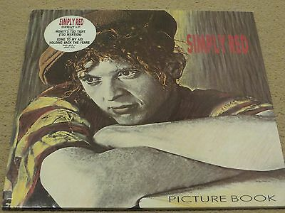LP-Simply Red-Picture Book