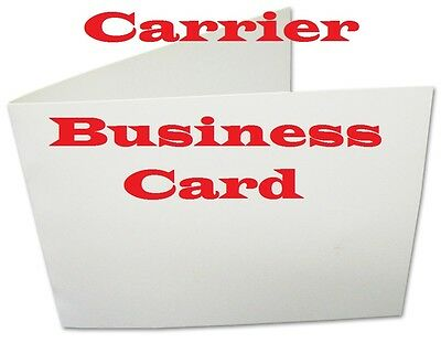 5 Carriers Sleeves Sheets For Laminating Pouches , CARD SIZE   4 x 2-1/2