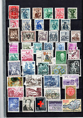 Austria Collection Approx 140 stamps Cat over £100 see descriptions and pictures