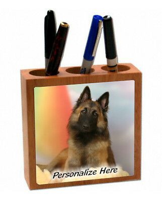 Belgian  Tervuren  Personalized  Pencil and Pen Holder