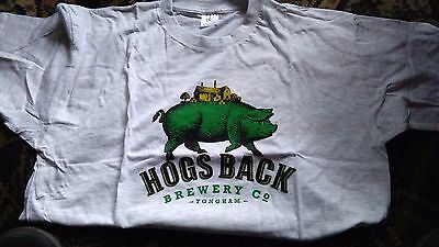 New Hogs Back Brewery T Shirt Size Xl