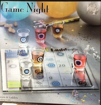 Game Night Shoots & Ladders DRINKING GAME , New Party Supplies Gift