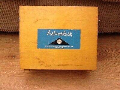 Vintage first aid box and contents by Astroplast