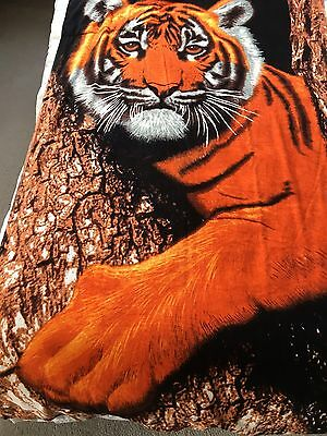 Large Tiger Print Beach Towel In A Bag BNWT