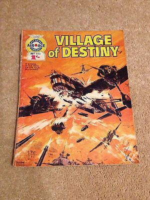 Air Ace Picture Library No 402 Village Of Destiny from 1968