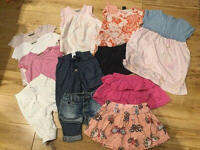 Baby girls summer clothes size 18-24