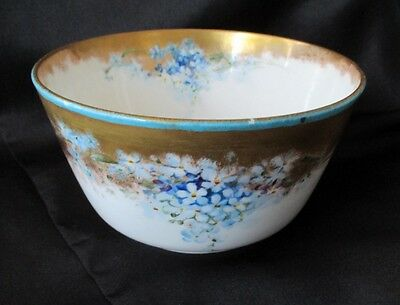 Hand painted Bowl, by Glasgow Girl? Signed E.M. McK 1906