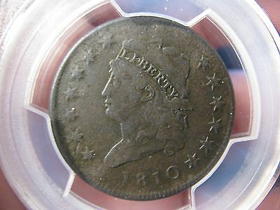 1810 Classic Head Large Cent **pcgs Vf Details** S-282 Free Shipping!!