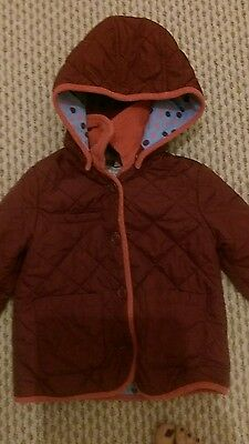 marks and spencer girls coat age 3-4