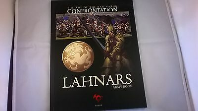 Rackham Age of Rag Narok/Confrontation Lahnars(Lion) Army Book. Softback. 28mm