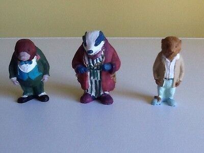 Wind in the Willows figurines