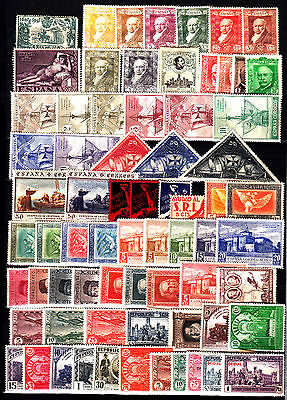 ⦿ Spain 1920/31 Lot Stamps MOSTLY MINT HINGED