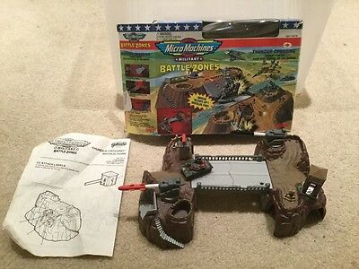 Micro Machines Military Battle Zones Thunder Crossing Play Set 1994 Galoob Toy