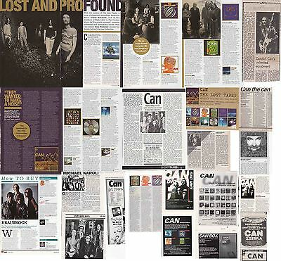 CAN : CUTTINGS COLLECTION -adverts interview- krautrock