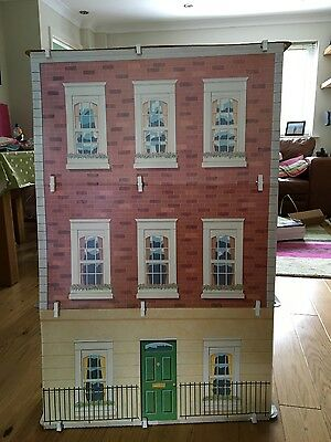 Original Barbie Townhouse With Working Elevator