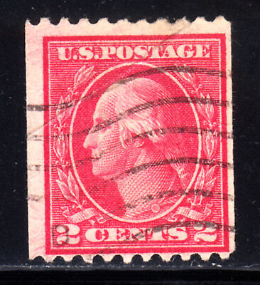 ⦿ US.#449 .02c WASH/FRANKLIN RARE COIL ISS. - VF - $600.00