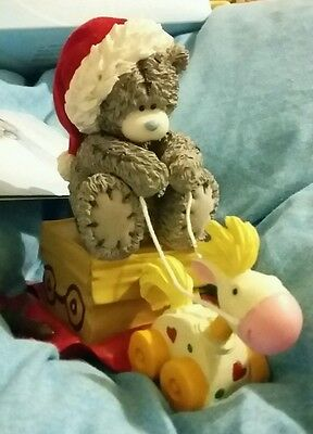 NEW Me to you Giddy up bear Christmas ornament Tatty Teddy BOXED