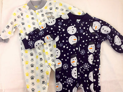 Lot of Baby Boys Onsies / Footed Long Sleeve 3 months / 3-6 months