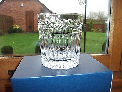 STUART CRYSTAL SENATOR 12o/z WHISKY GLASSES X 6