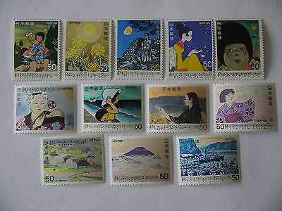 Japan A Collection Of Stamps Mnh