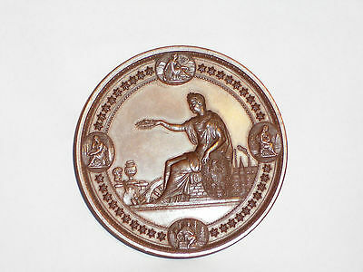 USA Bronzemedaille Philadelphia Ausstellung  1876 Mitchell US Commission Medal